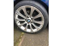 "Bmw 18"" alloy wheels m3 style"