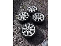 Mini cooper s alloys