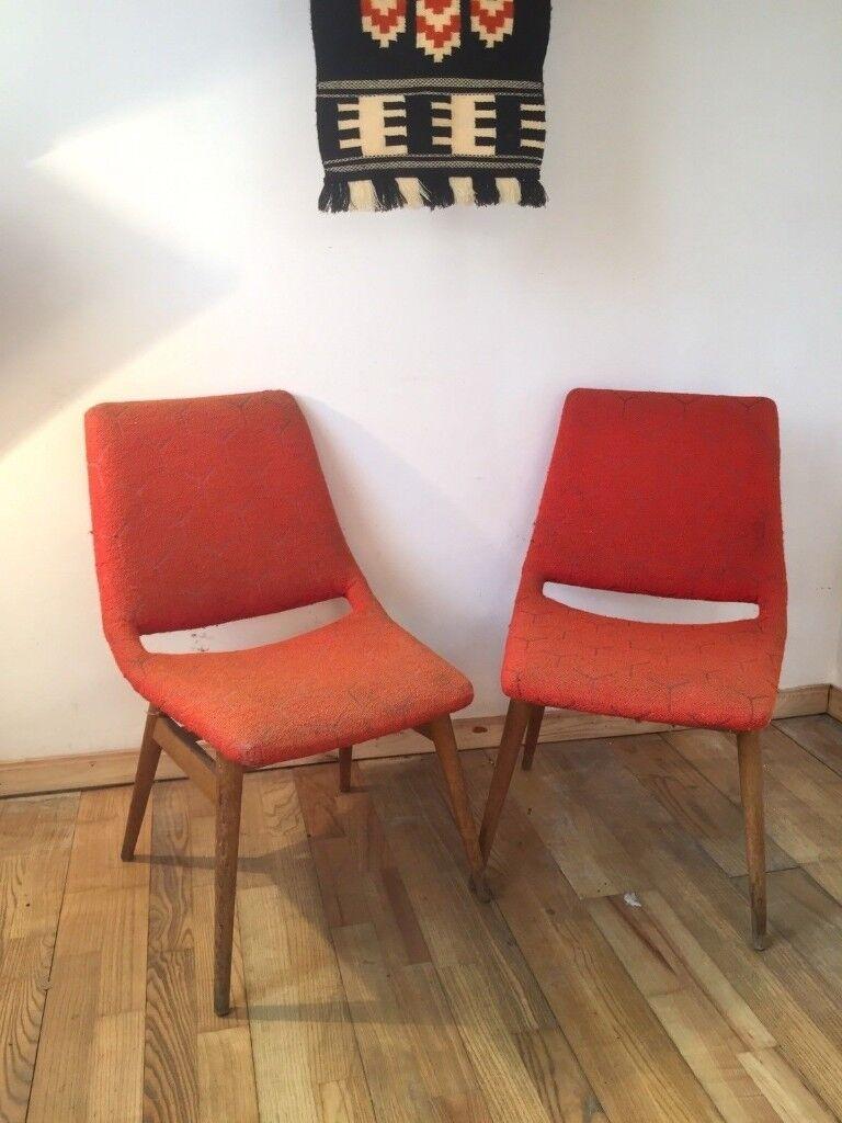 vintage 60s furniture. Original Vintage Pair Of Gondola Seat 60s CHAIRS Quirky Furniture Seats  Retro Vintage Furniture R