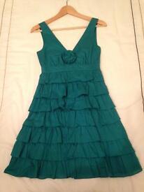 Warehouse Green dress size 6