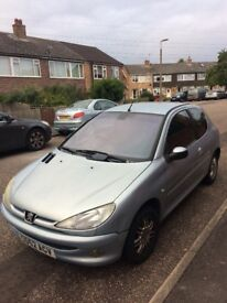 Peugeot 206 MOT until June 2018/new brake pads, clutch and exhaust... clunky drive shaft.