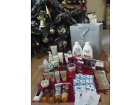 large mixed bundle of body products ans samples