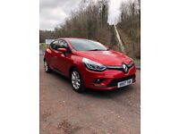 Renault Clio 2017 diesel 1.5 red 4 door low milage alloys new mk4