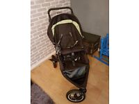 OBABY double buggy in good condition