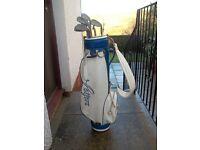 John Letters Golf Bag & Dunlop Clubs