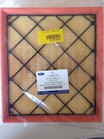 Genuine Ford Focus ST Mk2 Air Filter brand new still in bag.