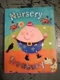 Nursery rhymes treasury book