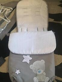 Tatty teddy footmuff
