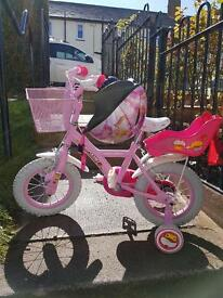 Kids Apollo Cupcake Bike 12 inch