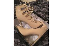 Heels size 5 Nude Lace up High Heels New boxed