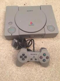 Sony Ps1 console setup