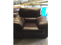 single seater and two seater leather suite