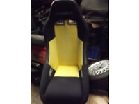 PAIR OF COBRA SEATS WITH RUNNERS FOR A CLASSIC MINI