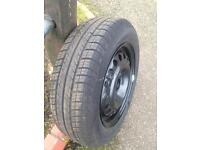 175 .65 14. Wheel and tyre Brilliant tred