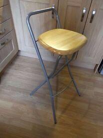Handy foldaway stool