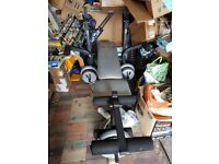 York 501 Weight bench