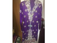 Purple sparkly dress