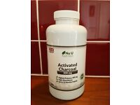 NEW Activated Charcoal Capsules 300mg Nu U