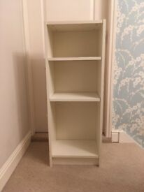 Ikea White small Billy bookcase