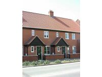 DEREHAM - South Green - Immaculate modern unfurnished house close to Town Centre