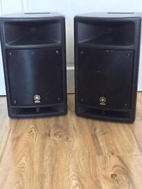 Yamaha Stagepas 300 Speakers