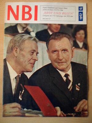 NBI 17 - 1967 * Günter Simon Harry Hindemith VII. Parteitag Wernigerode-Hochzeit