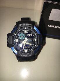 Casio G-Shock Twin Sensor Neon-Illuminator Watch (GA-1000-2BER)