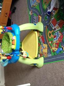 Baby jump activity