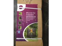 New Plum Trampoline 8ft with enclosure new in box