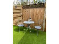 Garden Table and Chairs. Garden Furniture. Bistro set