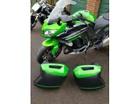 Kawasaki z1000sx stunning bike immaculate condition 4300miles on the clock