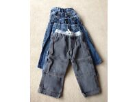 Bundle of 5 good quality trousers age 18-24 months