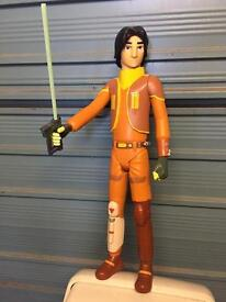 "Star Wars 18"" tall action figure rebels Ezra bridger force awakens rogue one toy"