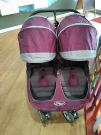 Baby city jogger mini double, twin stroller pushchair