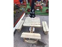 Garden bench / patio seating 8 seater