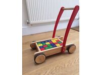 Wooden walker- John Lewis- BARGAIN