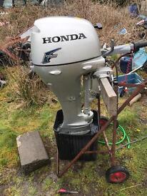Honda 4 stroke outboard boat engine