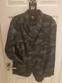 Cedar Wood State denim blazer