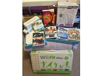 Wii fit plus & loads accessories/games