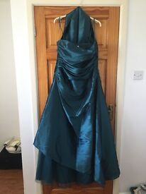 Teal prom/bridesmaid dress size 16/18