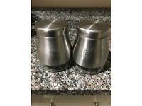 Tea & sugar container