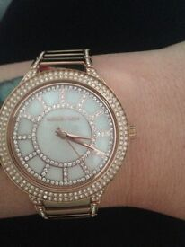 Real Micheal kors watch, comes with box and Micheal kors bag. 10 months old paid £253.99