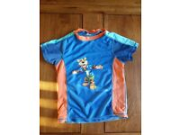 [VERY GOOD CONDITION] BOYS SWIM TOP AND SHORTS - AGED 3-4 SHORTS / 5-6 TOP