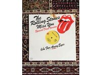 Rolling Stones Miss You vinyl