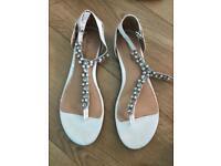 Wedding sandals size 7