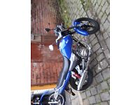 Moto-Roma SK 125 2015 almost mint condition swap for 125 scooter or 650.00 cash