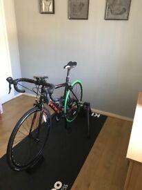 Wahoo smart trainer and road bike