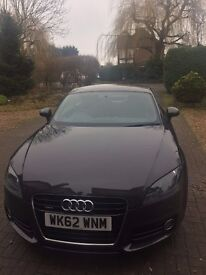 AUDI TT 3 DOOR SPORTS COUPE QUATTRO S TRONIC AUTOMATIC DIESEL METALLIC DARK GREY EXCELLENT CONDITION