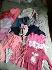 Bungle of girl clothes aged 1-2