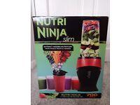 NEW SEALED Nutri Ninja Slim Blender & Smoothie Maker - Like Nutri Bullet